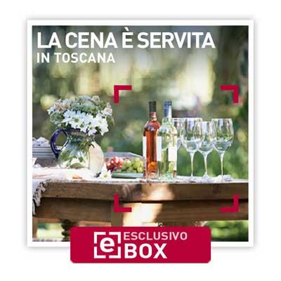 La cena è servita in Toscana - Smartbox