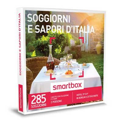 SOGGIORNI E SAPORI D'ITALIA - Smartbox