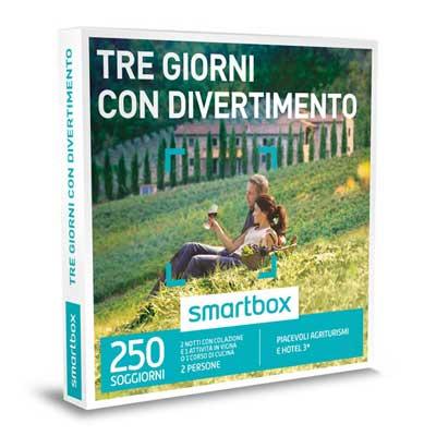 TRE GIORNI CON DIVERTIMENTO - Smartbox