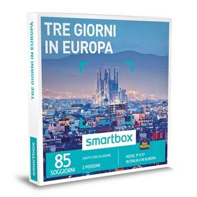 TRE GIORNI IN EUROPA - Smartbox