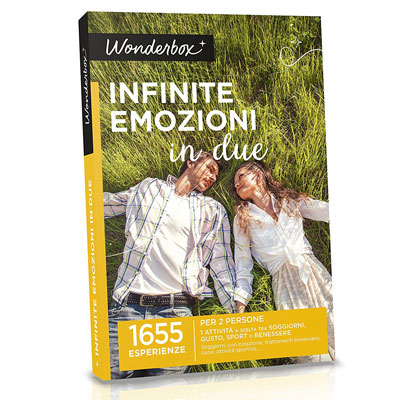 infinite emozioni per due - wonderbox