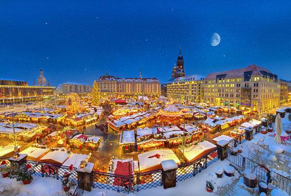 mercatino natale dresda germania Striezelmarkt