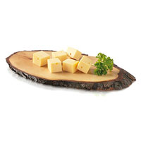 Tagliere legno con corteccia