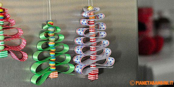 Lavoretti di natale per bambini con tutorial - Decorazioni natalizie fatte a mano per bambini ...