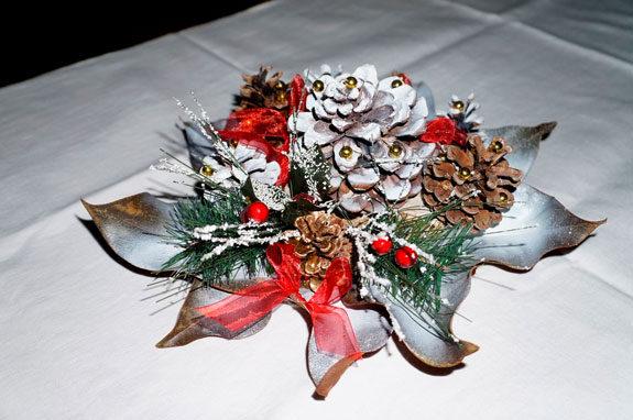 Centrotavola natalizi fai da te 10 idee originali con for Fai da te creazioni