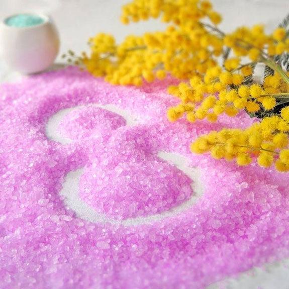 auguri donne sale rosa