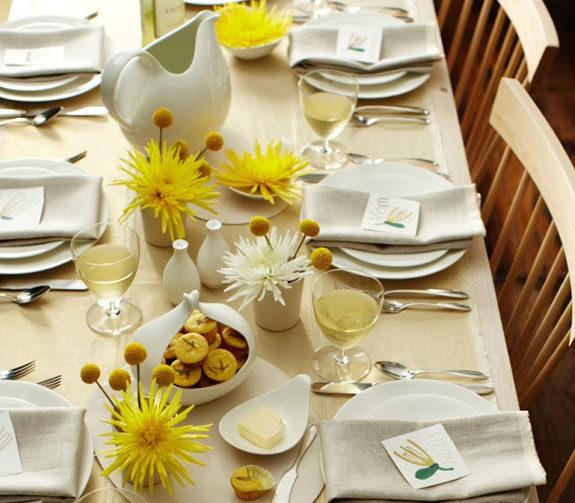 10 idee per decorare la tavola per la festa della donna for Decorazioni da tavolo