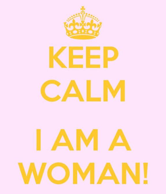 keep calm i am woman auguri festa donna