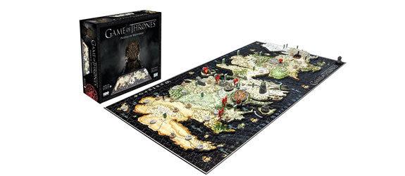 Puzzle in 4D della mappa di Game of Thrones