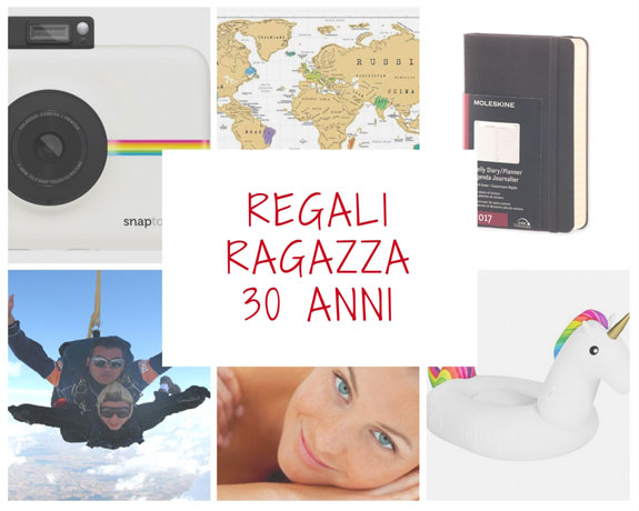 Idee regalo ragazza per i 30 anni for Idee regali