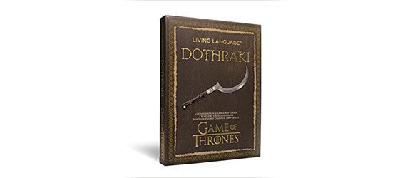 dizionario Dothraki Game of Thrones