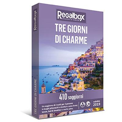 Tre giorni di charme - regalbox