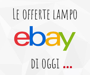 Le offerte lampo di eBay di oggi! Risparmia ora!