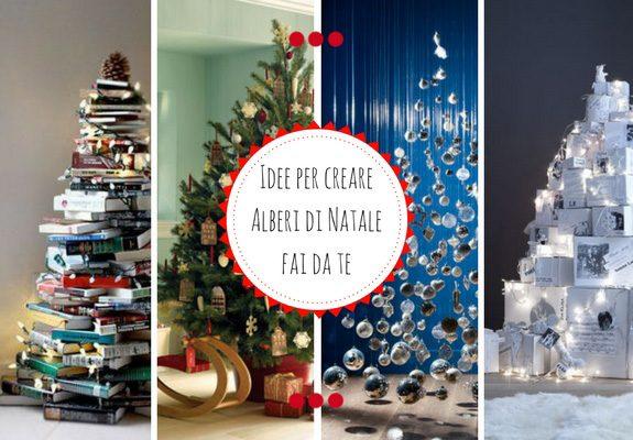 Albero Di Natale Originale Fai Da Te.Alberi Di Natale Fai Da Te
