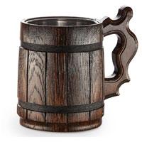 Boccale da birra in legno