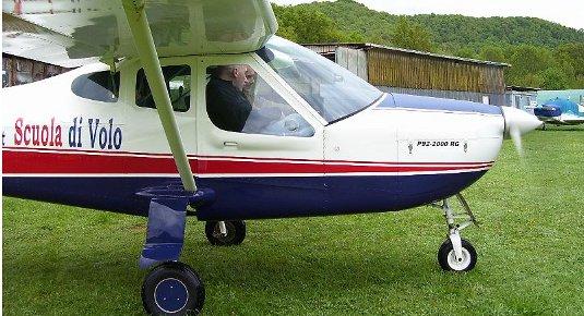 Pilotare un aeroplano - Zona Latina