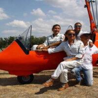 Volo in autogiro - Zona Latina