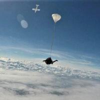 Lancio tandem con paracadute - Zona Bologna