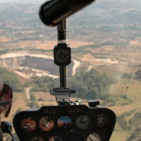 Volo in elicottero - Roma