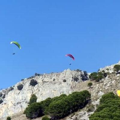 Volo in parapendio biposto - Parco nazionale del Pollino