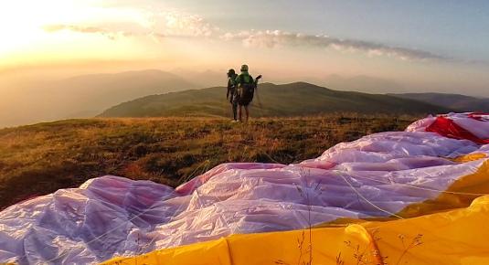 Escursione con volo in parapendio biposto - Zona Val Pusteria