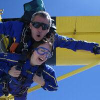 Lancio tandem con paracadute - Cremona