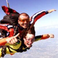Lancio tandem con paracadute - Verona