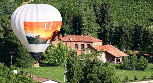 Volo in mongolfiera - Zona Asti