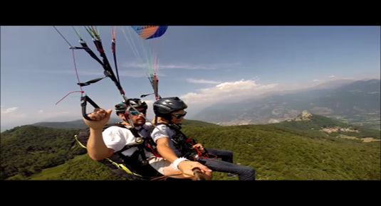 Volo in parapendio biposto - Zona Cuneo