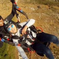 Volo in parapendio biposto - Zona Roma Sud