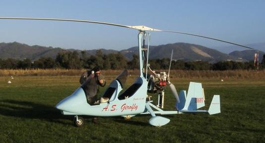 Pilotare un autogiro - Zona Lucca
