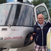 Volo in elicottero - Merano