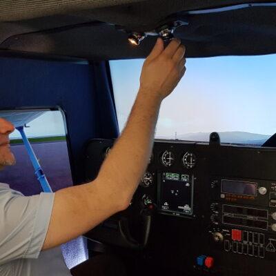 Simulatore di volo - Como
