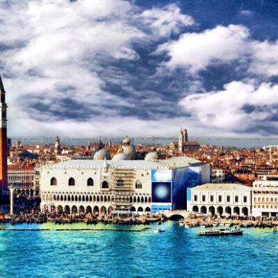 Volo in elicottero - Venezia