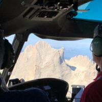 Volo in elicottero - Zona Val d'Ega (BZ)
