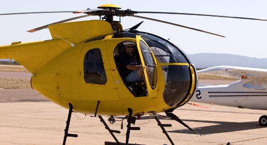 Volo in elicottero - Zona Novara