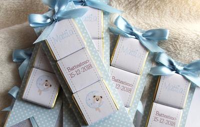 cioccolatini personalizzati per battesimo