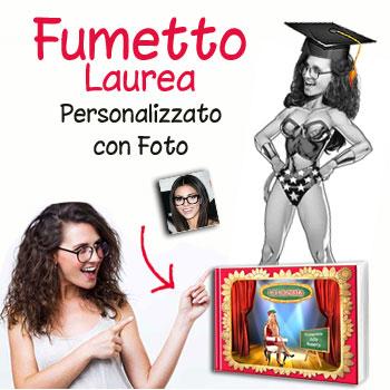 Fumetto personalizzato con foto
