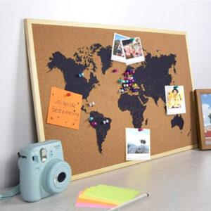 Bacheca Mappa del Mondo