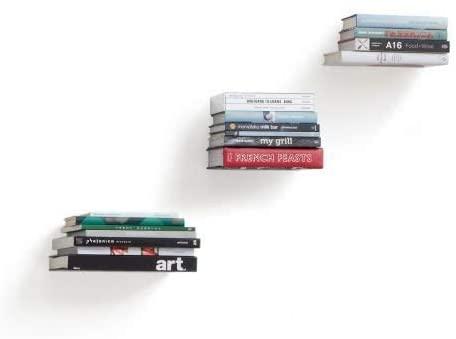 Mensola invisibile per libri
