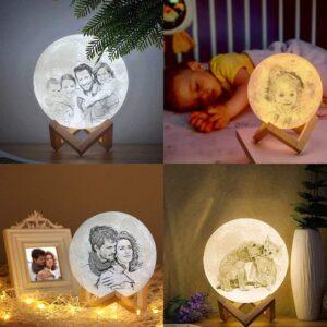 Lampada Luna con Foto