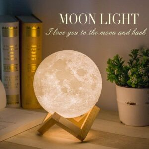 Lampada Luna 3D