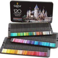 Set da 120 matite colorate