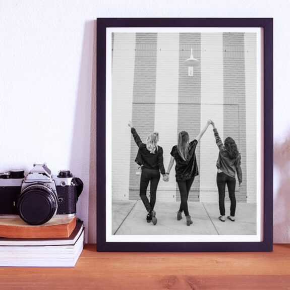 Stampa la vostra foto in bianco e nero