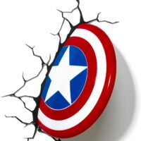 Lampada Scudo di Capitan America