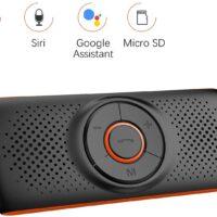 Vivavoce Bluetooth per Auto con Siri e Google Assistant