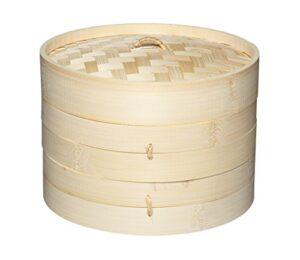 Cestello in bambù per cottura a vapore