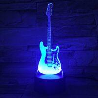 Lampade 3D Chitarra