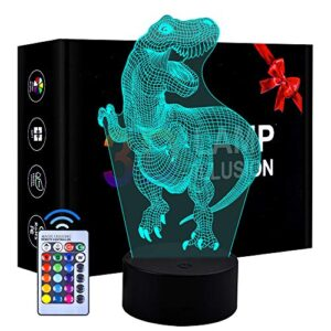 Luci notturne Dinosauro 3D
