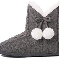 Pantofole con Pom Poms